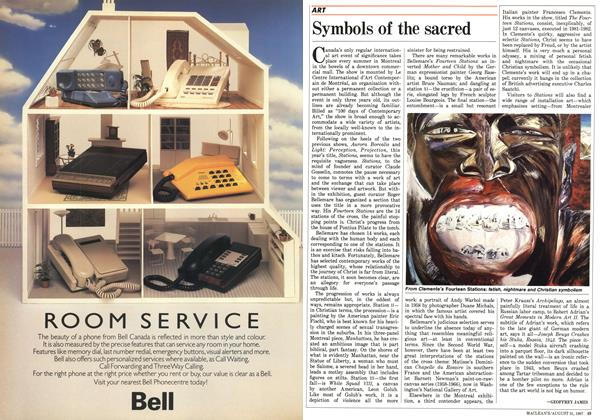 Article Preview: Symbols of the sacred, August 1987 | Maclean's