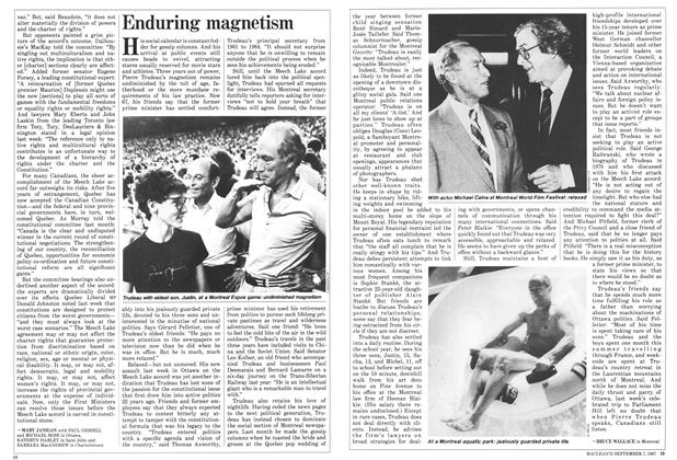 Article Preview: Enduring magnetism, September 1987 | Maclean's