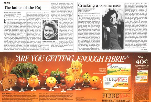 Article Preview: The ladies of the Raj, September 1987 | Maclean's