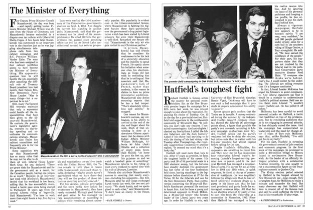 Article Preview: The Minister of Everything, SEPTEMBER 14,1987 1987 | Maclean's