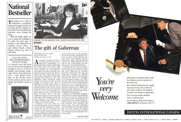 Article Preview: The gift of Gabereau, SEPTEMBER 14,1987 1987 | Maclean's