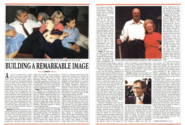 Article Preview: BUILDING A REMARKABLE IMAGE, September 1987   Maclean's