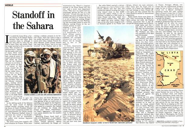 Article Preview: Standoff in the Sahara, September 1987 | Maclean's