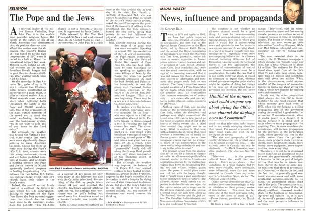 Article Preview: News, influence and propaganda, September 1987 | Maclean's