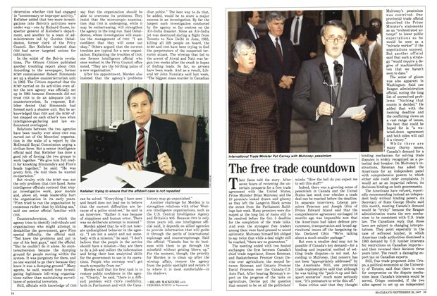 Article Preview: The free trade countdown, September 1987 | Maclean's
