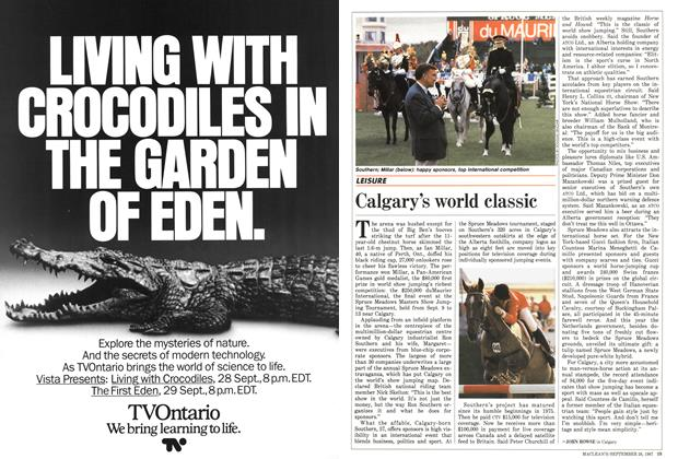 Article Preview: Calgary's world classic, September 1987 | Maclean's