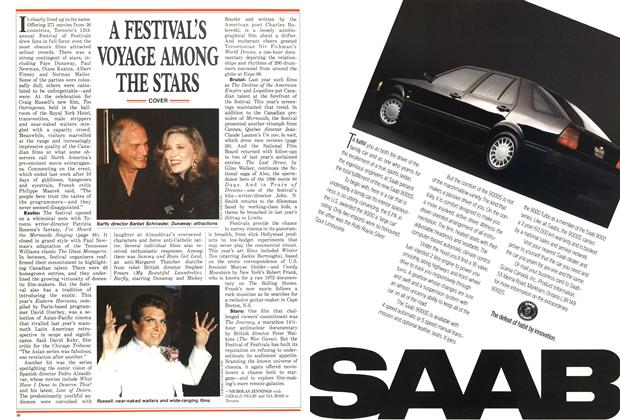 Article Preview: A FESTIVAL'S VOYAGE AMONG THE STARS, September 1987 | Maclean's