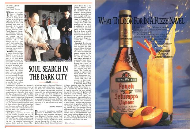Article Preview: SOUL SEARCH IN THE DARK CITY, September 1987 | Maclean's
