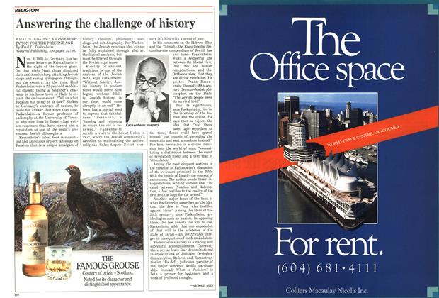 Article Preview: Answering the challenge of history, September 1987 | Maclean's