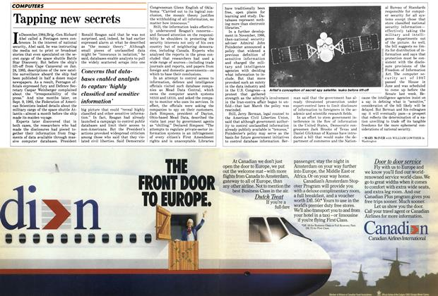 Article Preview: Tapping new secrets, September 1987 | Maclean's