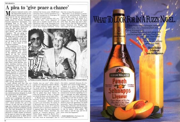 Article Preview: A plea to 'give peace a chance', October 1987 | Maclean's