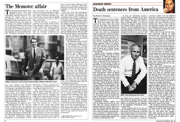 Article Preview: The Memotec affair, October 1987 | Maclean's