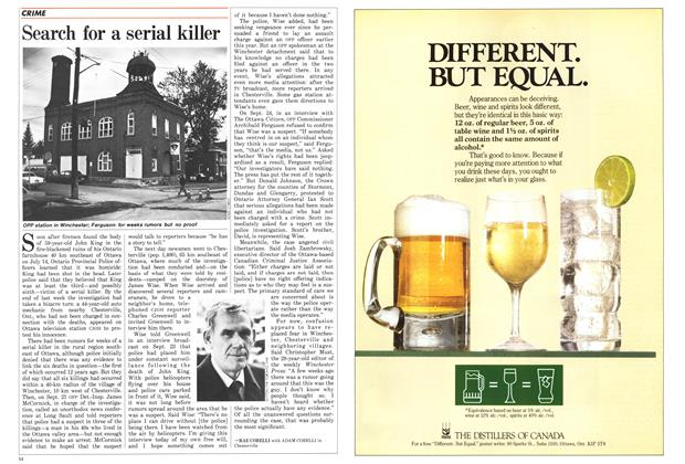 Article Preview: Search for a serial killer, October 1987 | Maclean's