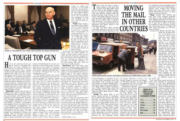 Article Preview: MOVING THE MAIL IN OTHER COUNTRIES, October 1987 | Maclean's