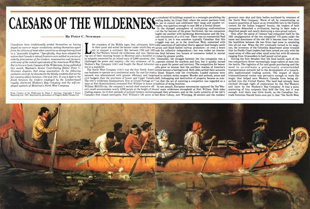 Article Preview: CAESARS OF THE WILDERNESS, October 1987 | Maclean's