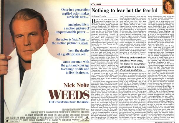 Article Preview: Nothing to fear but the fearful, October 1987 | Maclean's