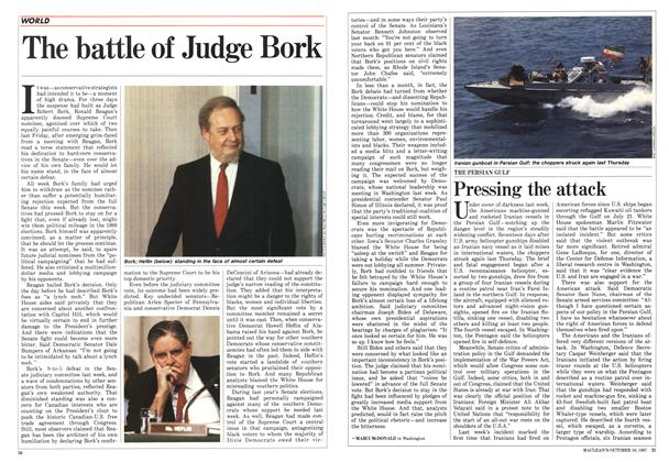 Article Preview: The battle of Judge Bork, October 1987 | Maclean's