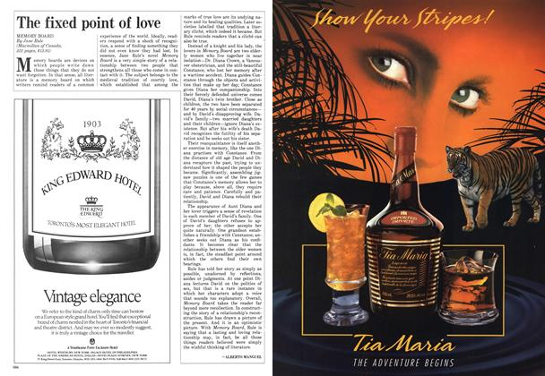 Article Preview: The fixed point of love, October 1987 | Maclean's