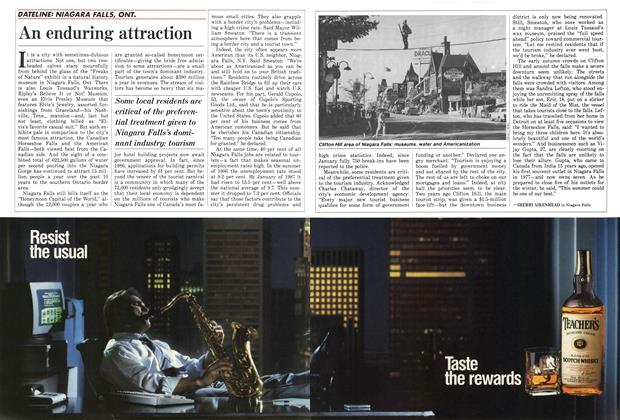 Article Preview: An enduring attraction, October 1987 | Maclean's