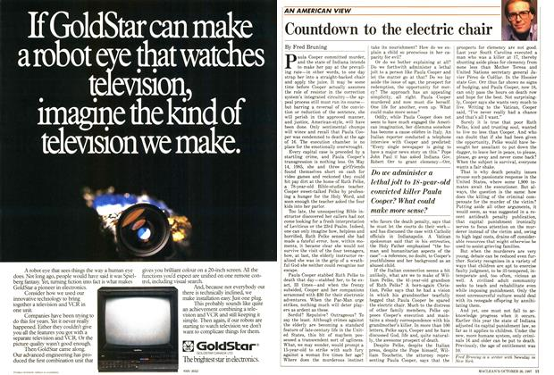Article Preview: Countdown to the electric chair, October 1987 | Maclean's