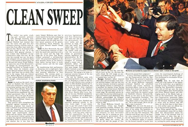 Article Preview: CLEAN SWEEP, October 1987 | Maclean's