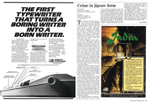 Article Preview: Crime in jigsaw form, October 1987 | Maclean's