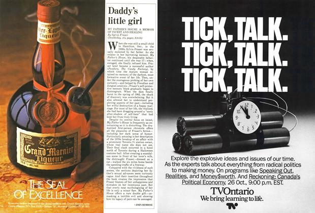 Article Preview: Daddy's little girl, October 1987 | Maclean's