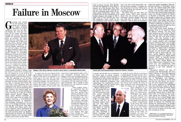 Article Preview: Failure in Moscow, November 1987   Maclean's