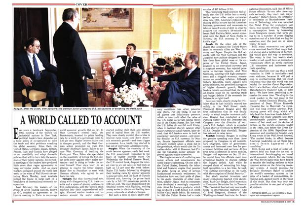 Article Preview: A WORLD CALLED TO ACCOUNT, November 1987 | Maclean's