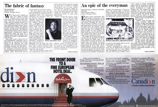 Article Preview: The fabric of fantasy, November 1987 | Maclean's