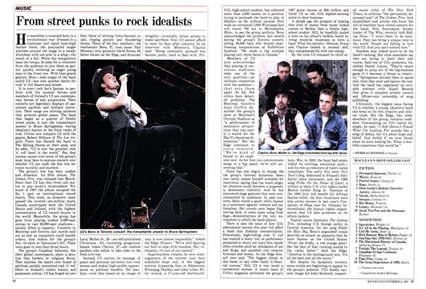 Article Preview: From street punks to rock idealists, November 1987 | Maclean's
