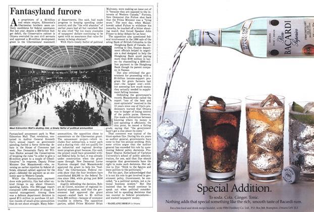 Article Preview: Fantasyland furore, November 1987 | Maclean's