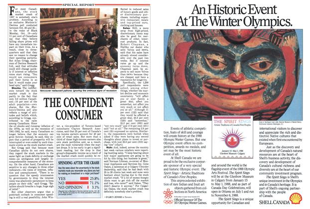 Article Preview: THE CONFIDENT CONSUMER, November 1987 | Maclean's