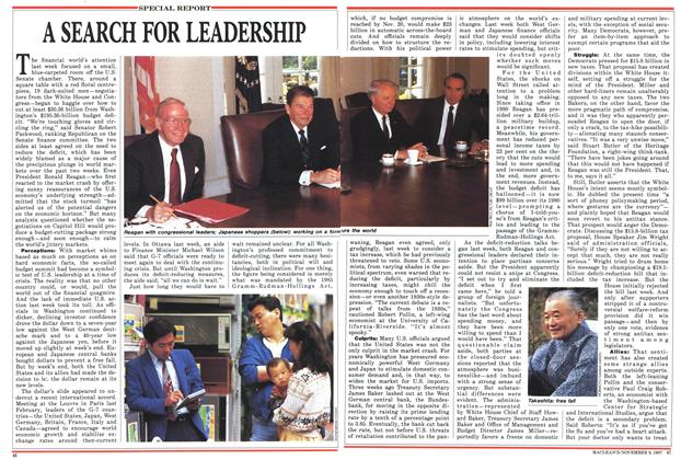 Article Preview: A SEARCH FOR LEADERSHIP, November 1987 | Maclean's