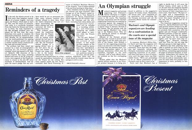Article Preview: Reminders of a tragedy, November 1987 | Maclean's