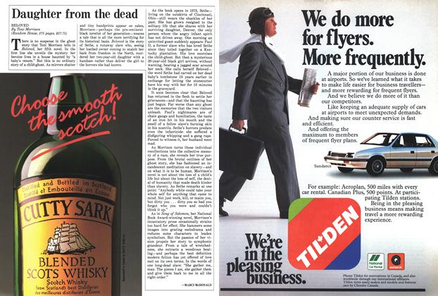 Article Preview: Daughter from the dead, November 1987 | Maclean's