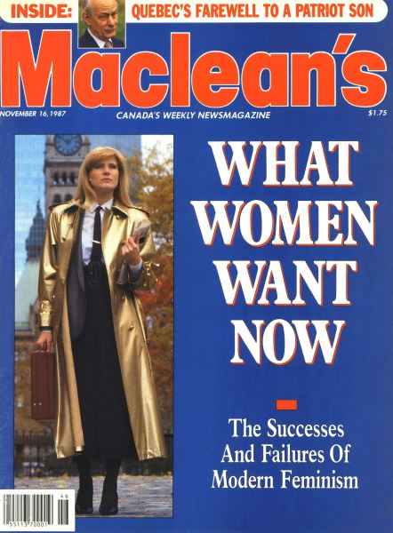 Issue: - November 1987 | Maclean's