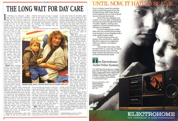 Article Preview: THE LONG WATT FOR DAY CARE, November 1987 | Maclean's