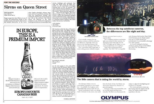 Article Preview: Sirens on Queen Street, November 1987 | Maclean's