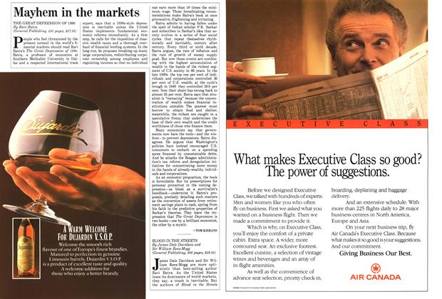 Article Preview: Mayhem in the markets, November 1987 | Maclean's