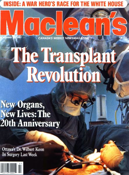 Issue: - November 1987 | Maclean's