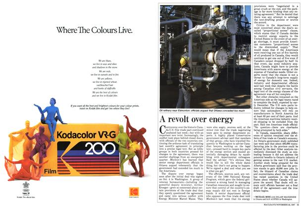 Article Preview: A revolt over energy, November 1987 | Maclean's