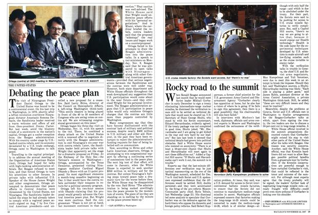 Article Preview: Rocky road to the summit, November 1987 | Maclean's