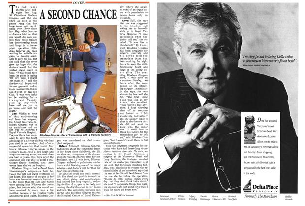 Article Preview: A SECOND CHANCE, November 1987 | Maclean's