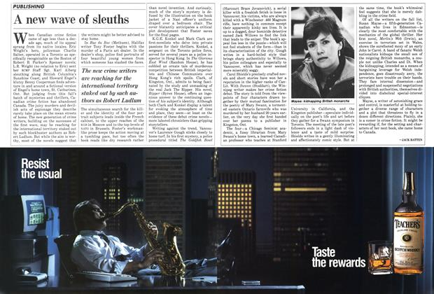 Article Preview: A new wave of sleuths, November 1987 | Maclean's