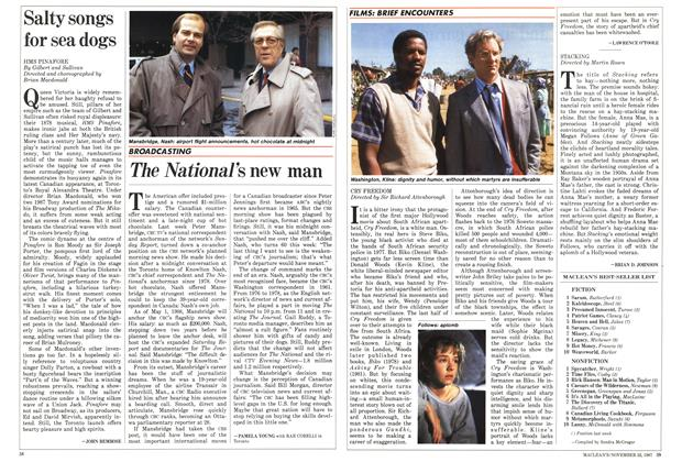 Article Preview: The National's new man, November 1987 | Maclean's