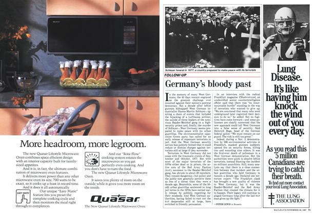 Article Preview: Germany's bloody past, November 1987 | Maclean's