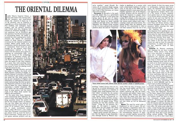 Article Preview: THE ORIENTAL DILEMMA, November 1987 | Maclean's