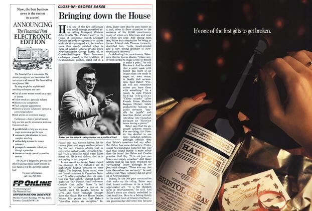 Article Preview: Bringing down the House, November 1987 | Maclean's