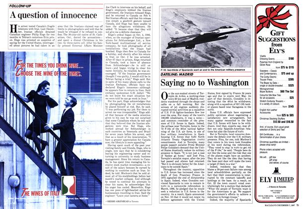Article Preview: A question of innocence, December 1987 | Maclean's